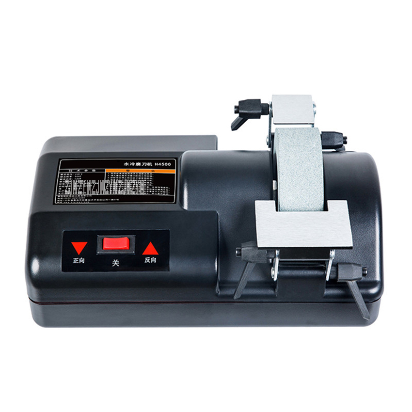 H4500 Electric Knife Sharpener 5-inch Water-cooled Low-speed Home Knife Sharpening Machine Hotel Household Sharpener 220V 120WH4500 Electric Knife Sharpener 5-inch Water-cooled Low-speed Home Knife Sharpening Machine Hotel Household Sharpener 220V 120W