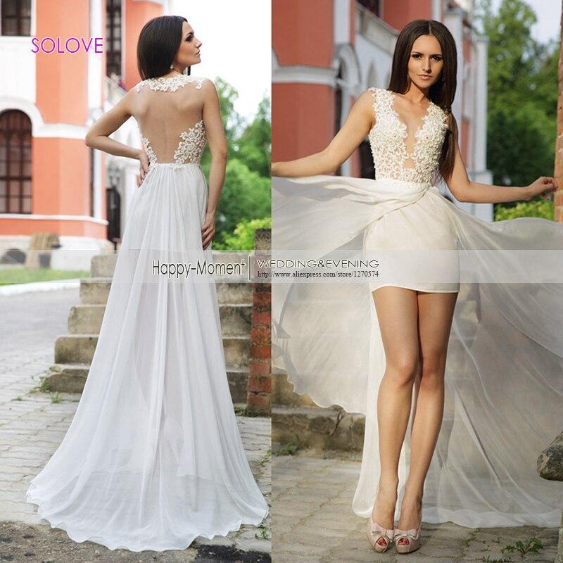 2 Piece Beach Wedding Dresses : High quality piece wedding dresses buy cheap