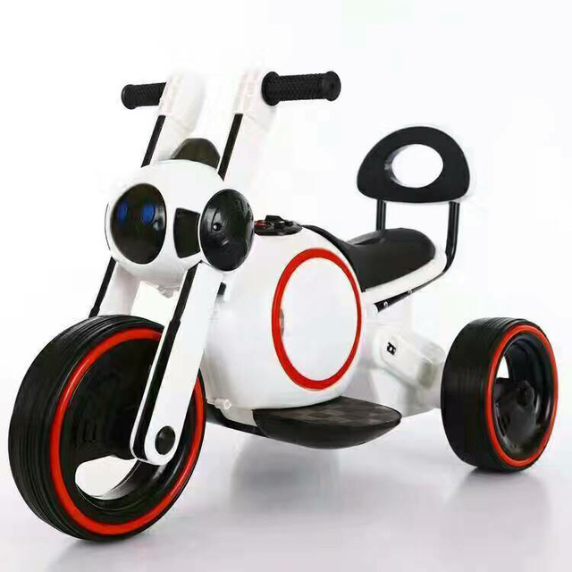 Space Dog Children Electric Motorcycle Lights Music Electric Toddler Battery Toy Car Electric Kids Cars Ride on Toys 1
