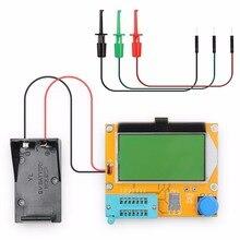 LCR-T4 Цифровой транзистор сопротивление тестера конденсатор Тест er диод индуктивность мультиметр с тестовым крюком