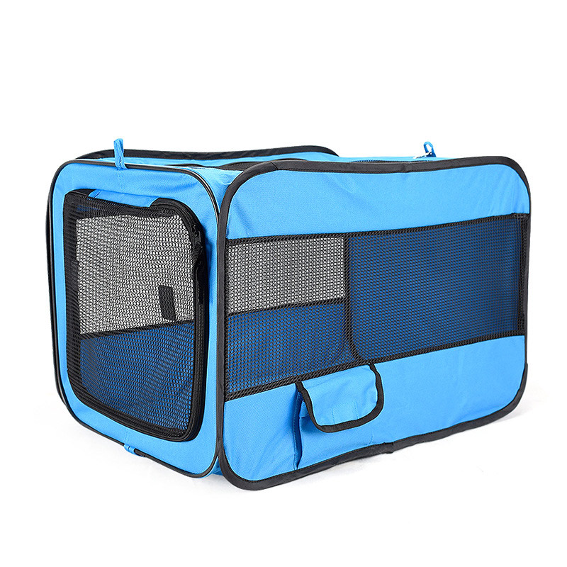 Pet Car Dog Transport Box Cage Dog Carriers Carrying For Small Dogs transportin perro hundebox auto bolso perro honden tassen-in Dog Carriers from Home & Garden    3