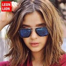 LeonLion 2019 Vintage Alloy Women Sunglasses Brand Designer