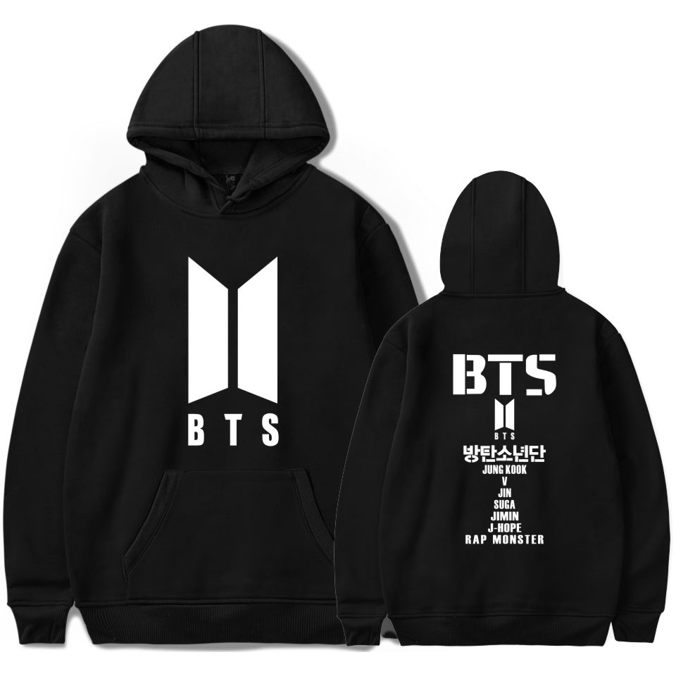 BTS kpop Love Yourself Harajuku Cap Sweatshirt Bangtan boys Fashion Hoodies Women and men winter k-pop Cap Clothes XXS To 4XL