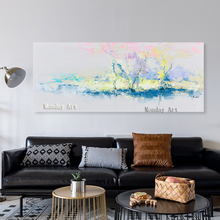 Fashion Art Hand Painted City Landscape Oil Painting On Canvas Pop Modern Abstract Wall Picture For Decoration No Frame