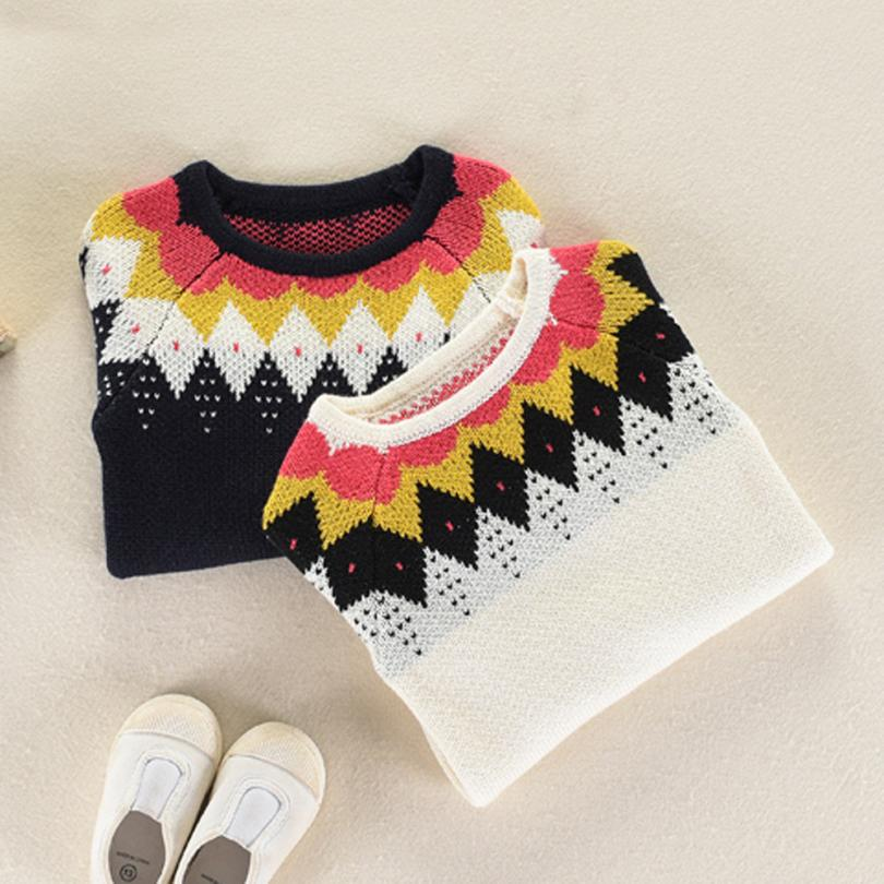 Toddler Girls Boys Kids Baby Sweater Knit Pullovers Warm Coat Outerwear Clothes NO15 Drop shipping