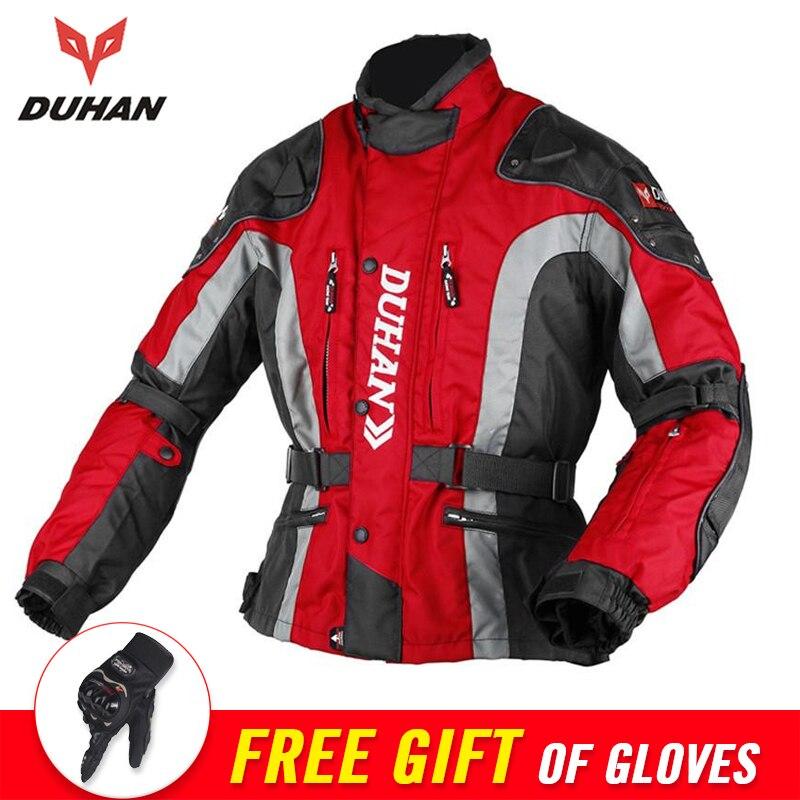 DUHAN Motocross Equipment Cotton Underwear Cold proof Motorbike Moto Jacket Protection Men s 600D Oxford Cloth