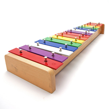Child gift professional 15 violin child musical instrument music toy hand knocking piano xylophone toys