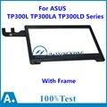 Новый 13.3 ''дюймовый Сенсорный Экран Панель + Рамка Для ASUS Transformer Book TP300L TP300LA TP300LD Серии Дигитайзер Стекла Замена