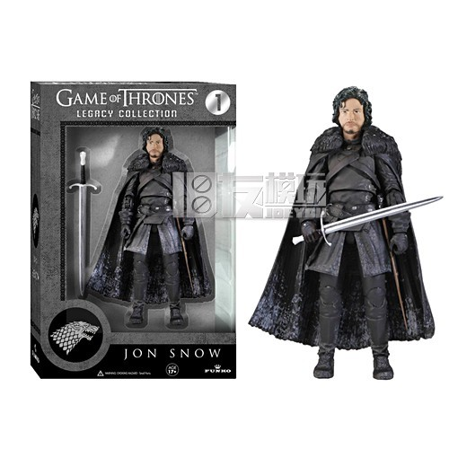 Game of Thrones Jon Snow 15CM High Classic Movable Action Figure Toys