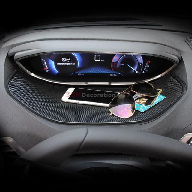 Peugeot 3008 Accessoires : accessories interior dashboard display anti skid pad mat 1pcs for peugeot 3008 gt 3008gt 2016 ~ Mglfilm.com Idées de Décoration