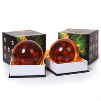 Dragon Ball Z Star Crystal Ball Big Size Diameter 3 Inch 7 5cm Box Packaged Free