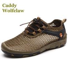 Nuevo estilo caliente de Verano zapatos de senderismo 2016 amantes zapatillas de malla ligera zapatos de mujer hombres zapatos de Viaje al aire libre de buena calidad