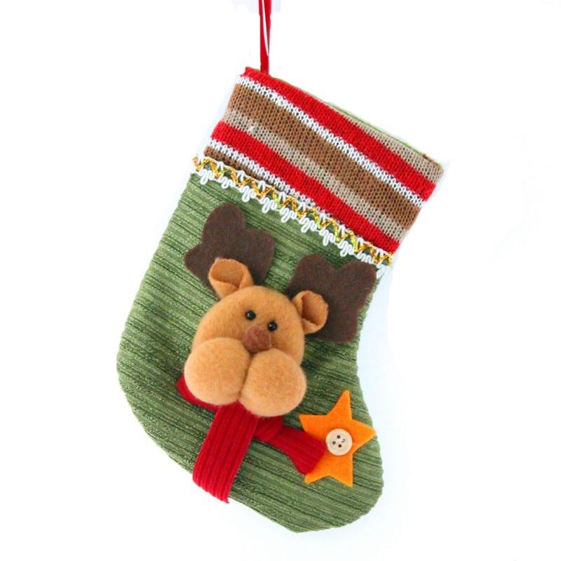 christmas gift bags pet dog cat snowman stocking socks xmas tree ornaments christmas stockings new year gift holder in stockings gift holders from home