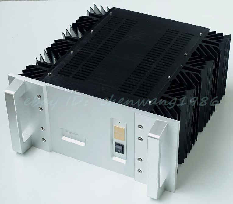 BZ4822A aluminum-chassis-pre-amplifier-chassis-Enclosure-box-480-497-215mm