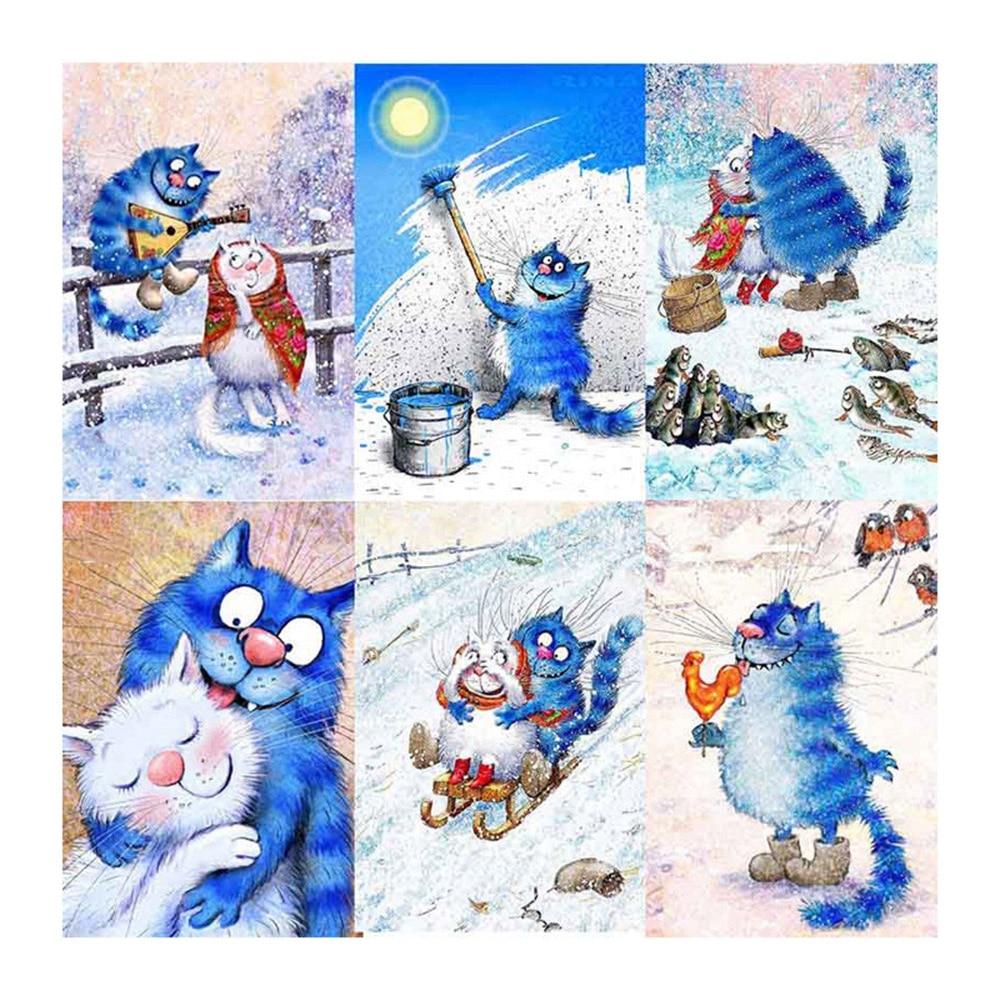 5d-diy-diamond-embroidery-cartoon-blue-cat-diamond-painting-Cross-Stitch-full-square-Rhinestone-mosaic-home