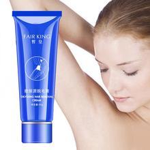 Painless shaving cream, hair removal, bu