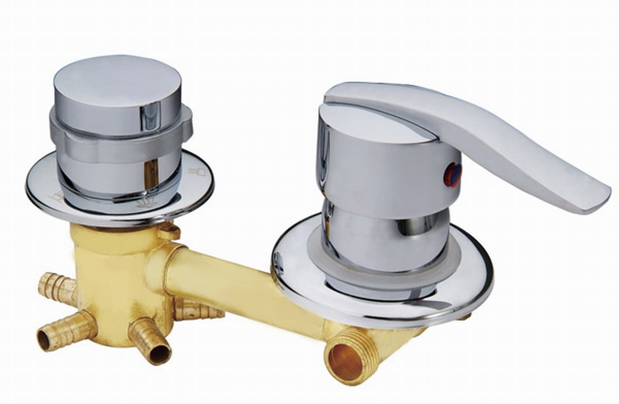 Shower room faucet , 2/3/4/5 way water outlet shower room mixing valve, shower room cabin accessories