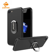 CORNMI for iPhone 7 PLUS 8P Ring Finger Holder Case Phone Support Protective Hard Back Cover with Stand for iPhone7+ 8+(China)