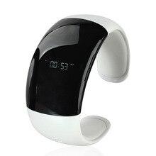 สมาร์ทบลูทูธแฮนด์ฟรีโทรศัพท์มือถือนาฬิกาสร้อยข้อมือสร้อยข้อมือpedometerพันธมิตรสนับสนุนA Ndroidแจ้งเตือน