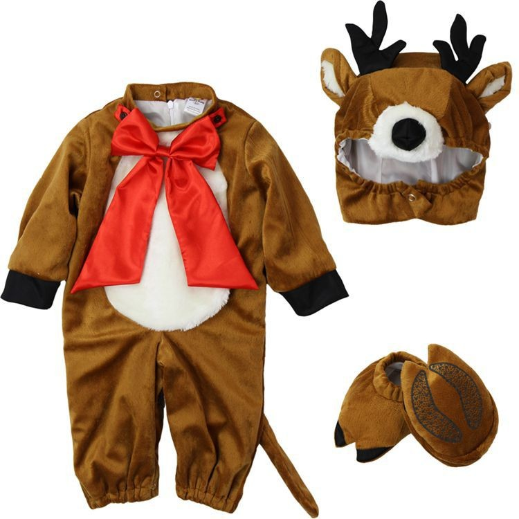 Direct Selling Lovable Lion Infant Costume Baby Romper Toddler Jumpsuit Infantil Animal Fantasia Halloween Fancy Cute Baby Sets