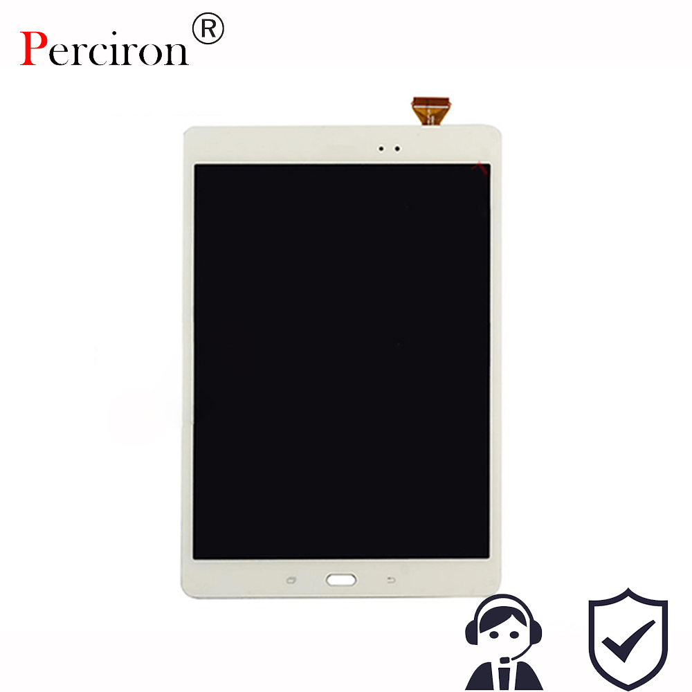 все цены на New 9.7'' inch Touch screen Digitizer LCD Display Assembly For Samsung Galaxy Tab SM-T550 T550N T555 Free Shipping онлайн