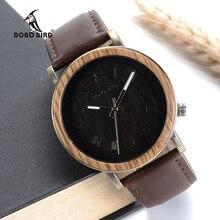 Бобо птица v-p01 древесины бамбука Часы Для мужчин новые продукты casul мода кварцевые наручные часы horloge