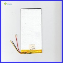 купить ZhiYuSun 3.7V chickness 3mm width 72mm length 155mm 3 lines 4000mahpolymer lithium ion battery / Li-ion battery for tablet pc,; по цене 1044.7 рублей