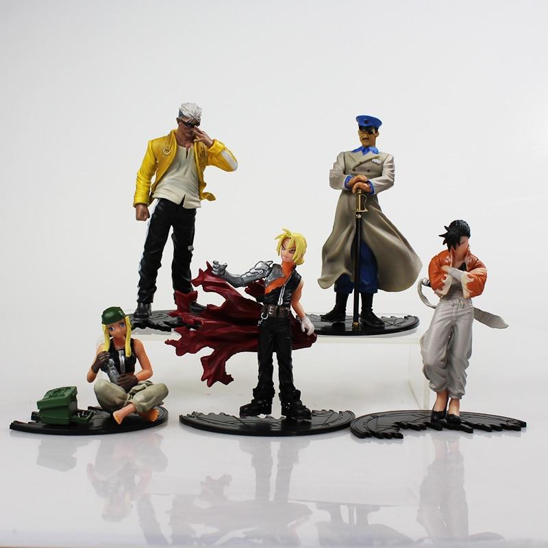 5Pcs/Set Anime Fullmetal Alchemist PVC Action Figure Toys ...