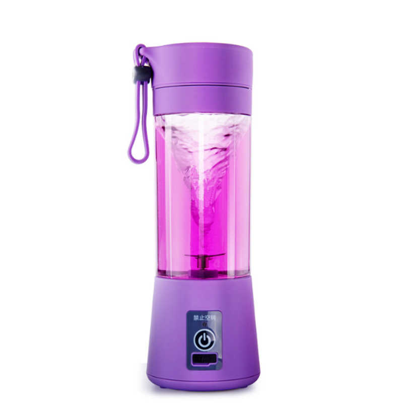Mini USB Charging Blender Mixer Portable Juicer Multifunction Small Juice  Machine Smoothie Maker Whisk Fruit Home Extractor