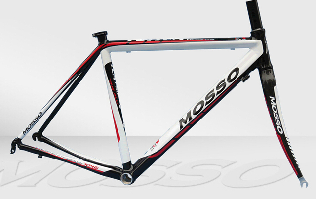 a9f9594010b MOSSO 791TCA 700C Road Bike Frame 7046 Ultralight Aluminum Alloy Road  Bicycle Racing Frame+Full Carbon Fiber Fork+Headset+Clamp