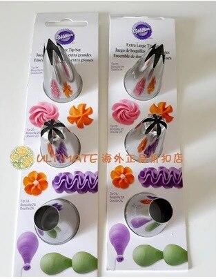 Wilton decoration tips nozzles bakeware cupcake 3 pcsset 1M2D2A