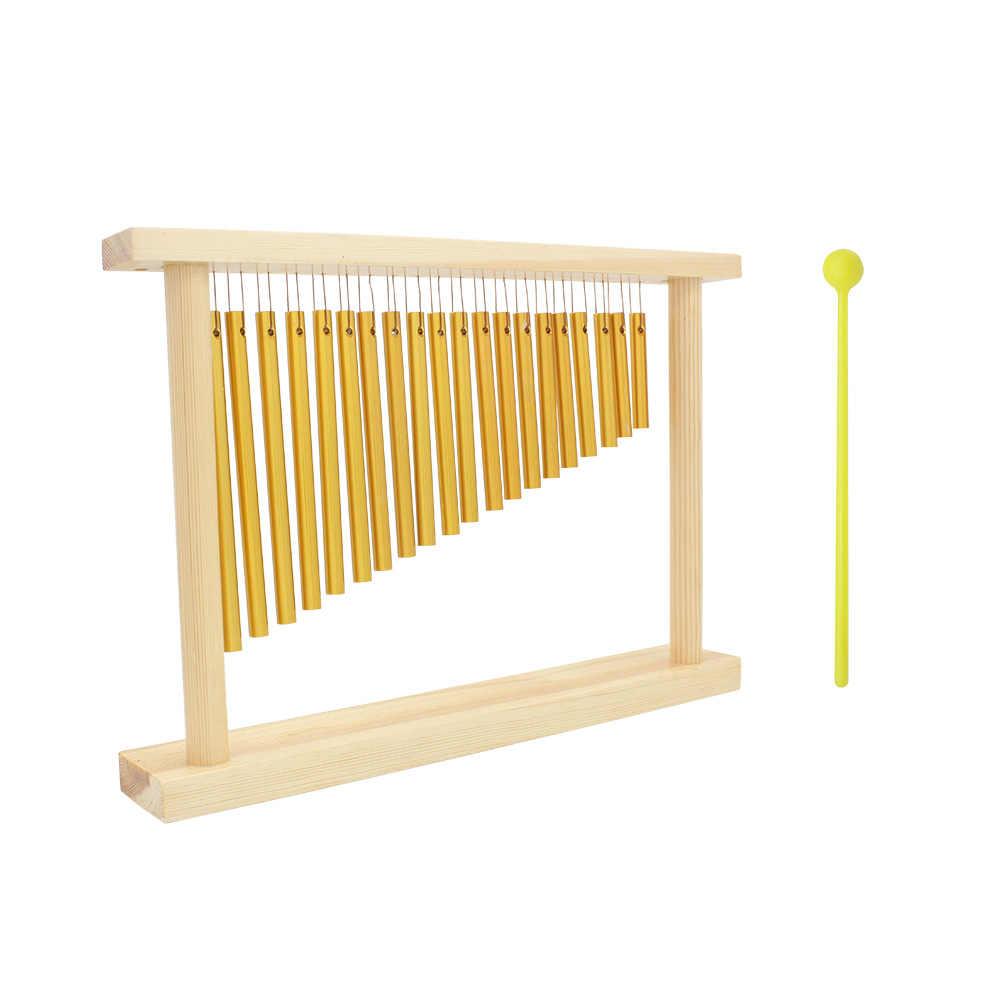 20 Тон столешница штанги 20 баров Однорядный музыкальный ударный инструмент с деревянной стойка