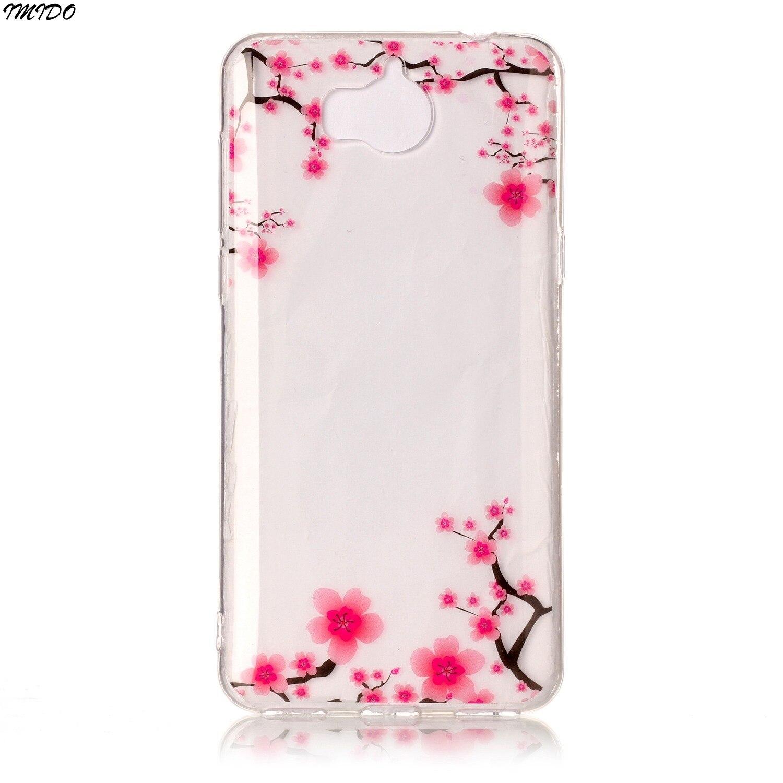 Coque Huawei Y5 2017 MYA L22 Case Huawei MYA L23 Silicone Cover ...
