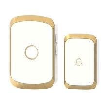 JXSFLYE новейший Водонепроницаемый Беспроводной Дверной Звонок 36 кольца 3 громкости дверной
