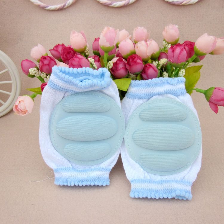 2Pcs 1Pair Baby Kneepad Cozy Cotton Breathable Sponge Children Knee Pads Doll Learn To Walk Best Protection Send Random Color in Edge Corner Guards from Mother Kids