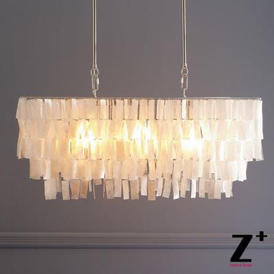 Led Chandelier Capiz Shell Rectangle Modern Lamp Loft Dinning Room In Pendant Lights From Lighting On Aliexpress Alibaba Group
