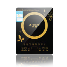 Household induction cooker black crystal panel touch power 2200W8 shift can be controlled to adjust