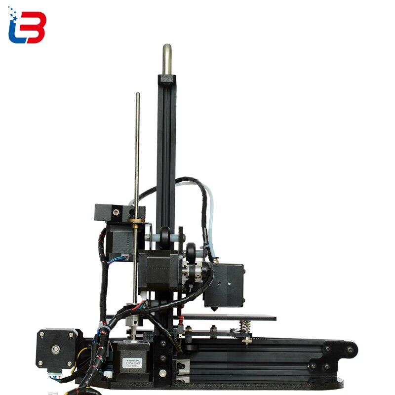 cheapest Good Quality Mini DIY 3D Printer Desktop Portable for beginner build size 150 150 150mm CE FCC RoHS certifiction LCD 8GB SD free