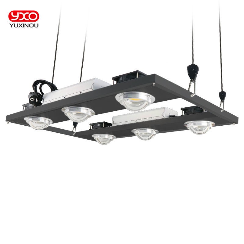 Dimmable CREE CXB3590 600W 76000LM COB LED Grow Light Full Spectrum Replace HPS 1000W Growing Lamp