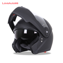 Full Face Professional Motorcycle Helmet Safe helmets Racing helmet Modular Dual Lens Motorcycle Helmet Unisex Available