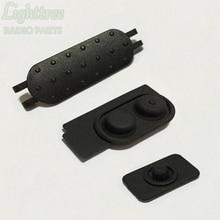 10setsX botón PTT y caucho para Motorola DEP550 XIR P6620 P6600 P6620i