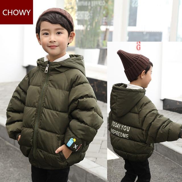 e3515a204e73 Children Down Jacket Kids Clothes Winter Thick Warm Boys Girls ...