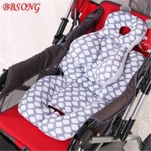 BBSONG сиденье для детской коляски коврик теплый хлопок подушка матрасы детская коляска корзина коврик сиденье для малыша коврик детское кресло мягкая подушка