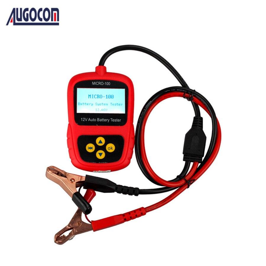 AUGOCOM MICRO-100 testeur de batterie numérique Conductance de la batterie et analyseur de système électrique 30-100AH