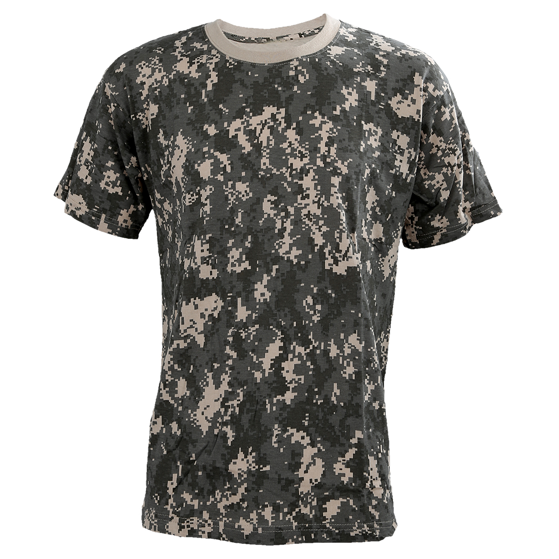 ELOS-Outdoors Hunting Camouflage T-shirt Men Army Tactical Combat T Shirt Military Dry Sport Camo Outdoor Camp Tees