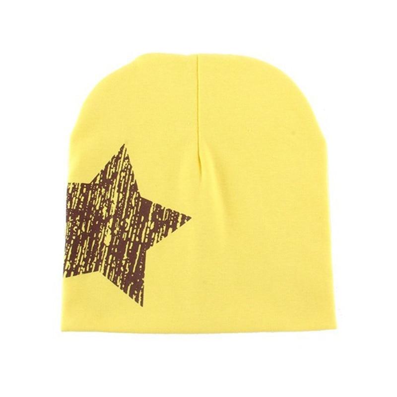 Baby Kid Toddler Cute Stars Printed Hat Boys Girls Soft Warm Cotton Beanie Cap