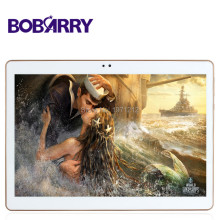 Bobarry 10.1 pulgadas octa core 3g 4g lte tablet android 6.0 ram 4 gb ROM 64 GB de Doble Tarjeta SIM tablet pc Bluetooth GPS Tabletas 7 9 10