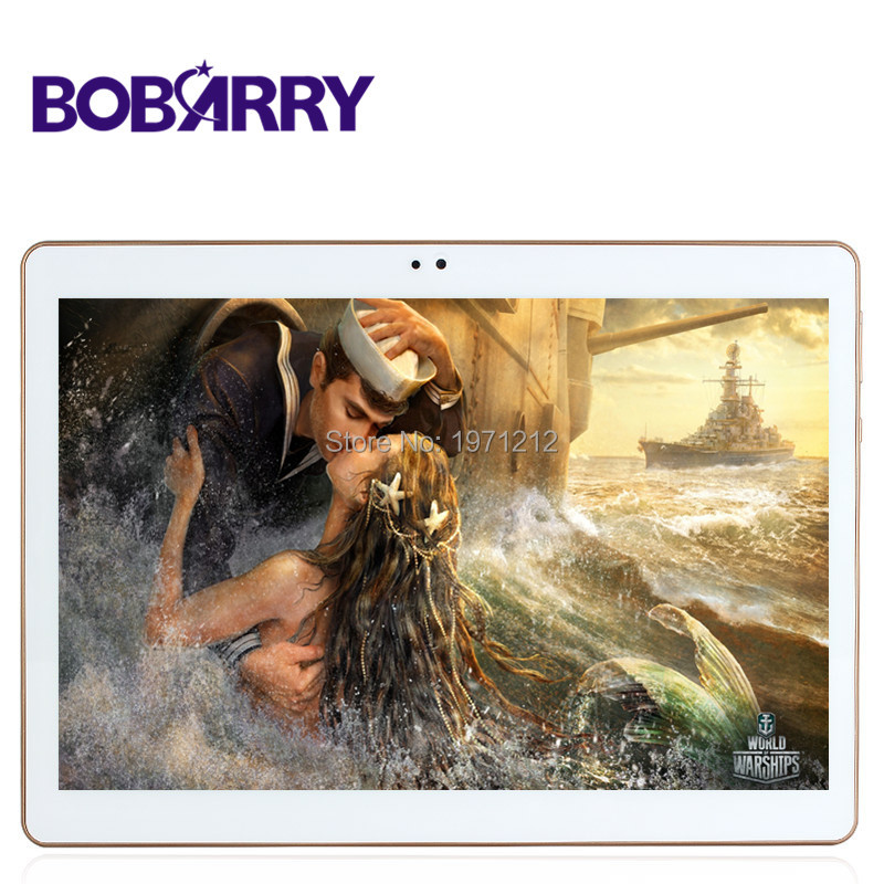 BOBARRY 10.1inch Octa Core 3G 4G LTE Tablet Android 6.0 RAM 4GB ROM 64GB Dual SIM tablet pc Card Bluetooth GPS Tablets 7 9 10