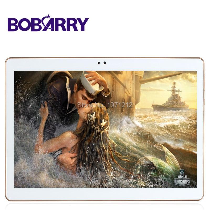 Bobarry 10.1 дюйма Восьмиядерный 3G 4 г LTE Планшеты Android 6.0 Оперативная память 4 ГБ Встроенная память 64 ГБ Dual SIM tablet PC Card Bluetooth GPS Планшеты 7 9 10