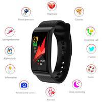 Smart Band F4 Smart Wristband Heart Rate Tracker Blood Pressure Oxygen Fitness Bracelet IP68 Waterproof GPS Smart Watch